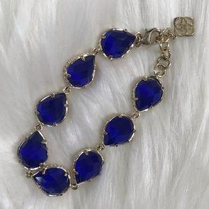 Kendra Scott Brynn Bracelet in Cobalt
